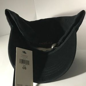 Polo by Ralph Lauren Accessories - BNWT Polo by Ralph Lauren Black Hat Red Polo Horse